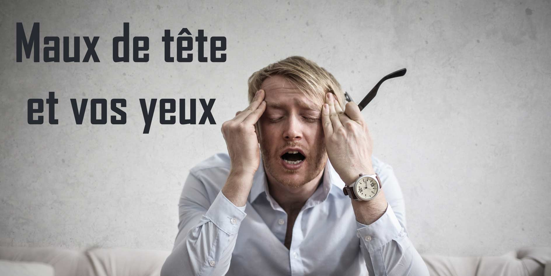 Read more about the article Maux de tête derrière les yeux: causes et traitement