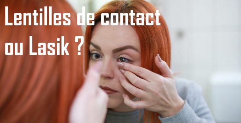 Read more about the article Complication des lentilles de contact par rapport au LASIK?