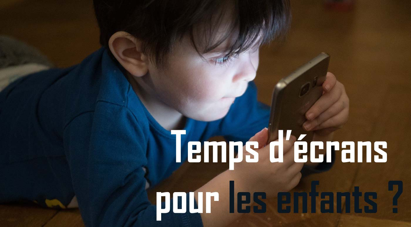 Read more about the article Trop de temps d'écran est-il mauvais pour les enfants?