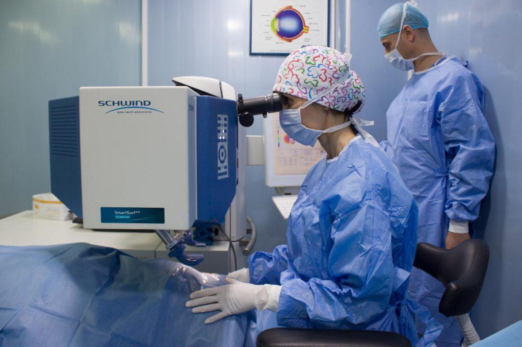 Chirurgie lasik en Algérie