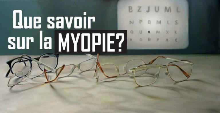 Read more about the article Myopie : Causes et traitements