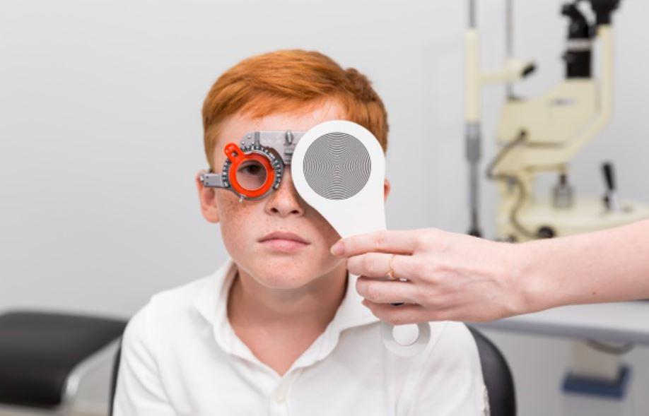 العين الكسولة