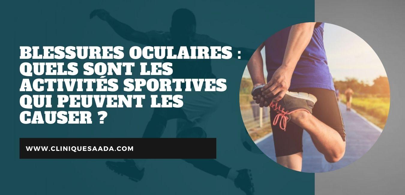 Read more about the article Blessures oculaires : Quels sont les activités sportives qui peuvent les causer ?